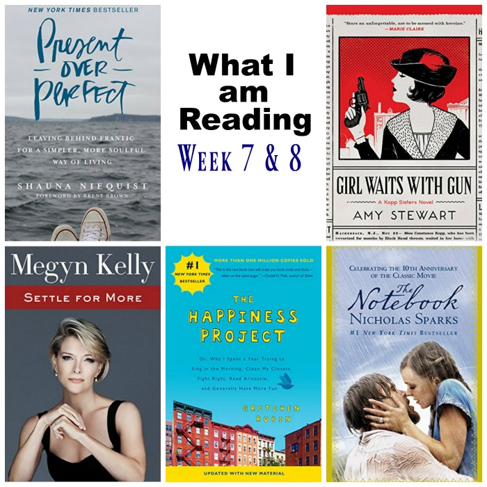 What I am Reading Week 7 and *