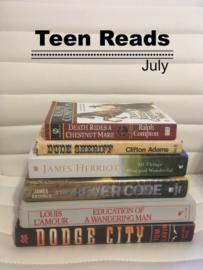 Teen Reads July
