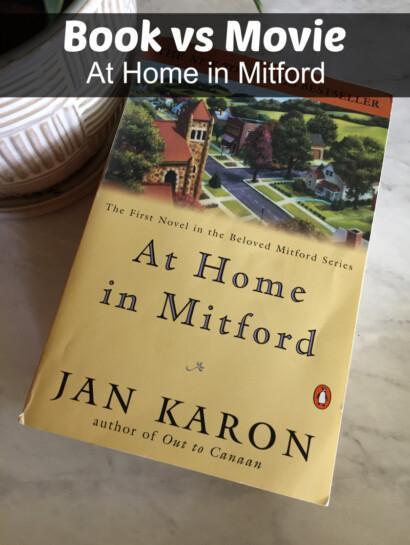 At Home in Mitford Book vs Movie