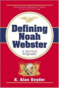 Defining Noah Webster