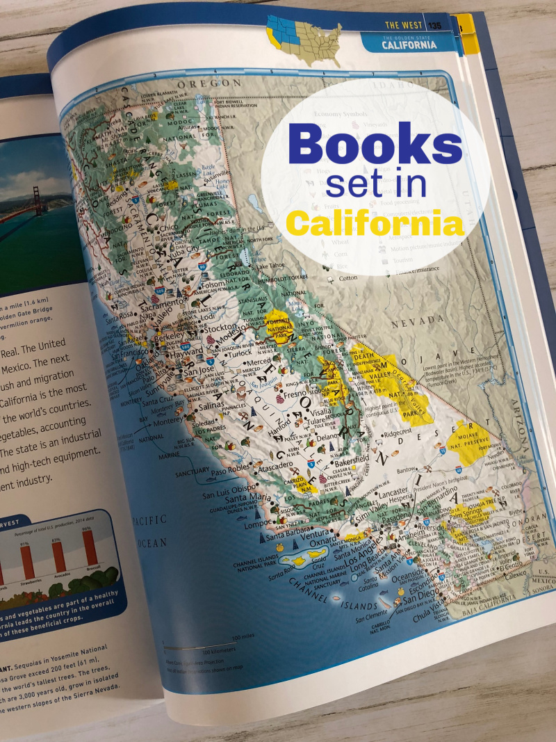Books Set in California