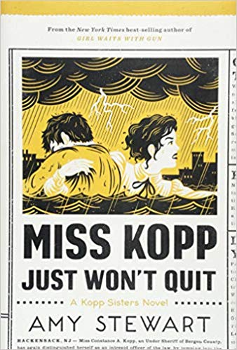 Miss Kopp Won't Quit