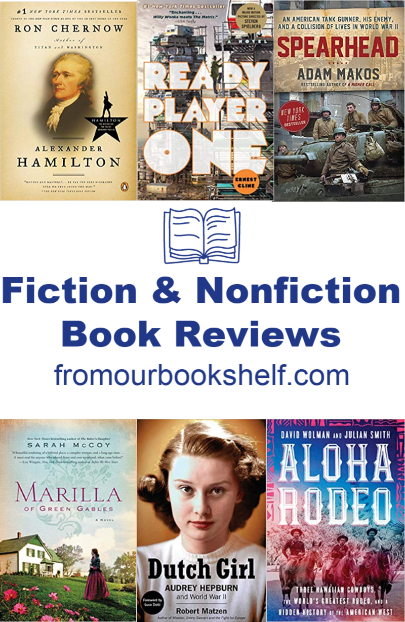 Twelve Fiction and Nonfiction Book Reviews