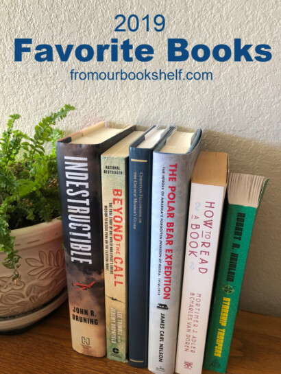 Stack of favorite books 2019