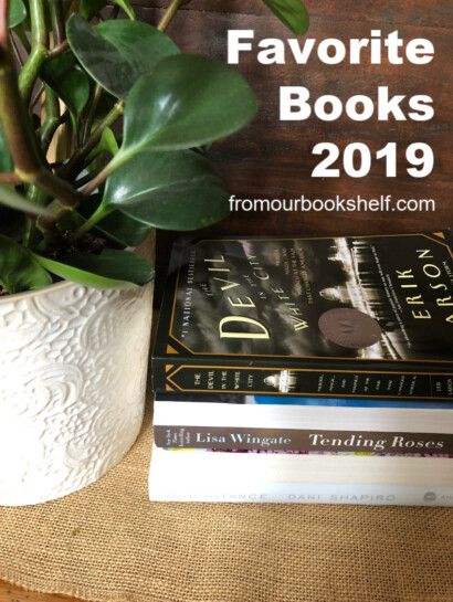 Stack of favorite book of 2019