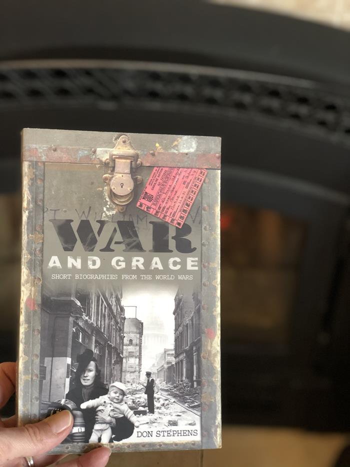 War and Grace Book