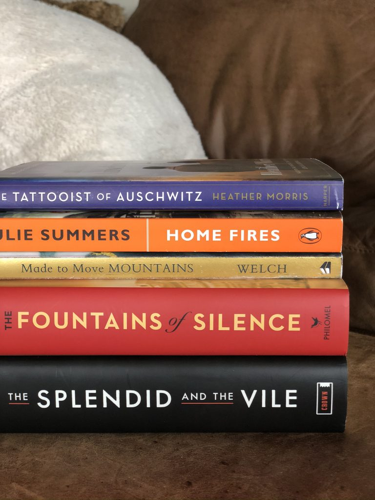 A list of current reads