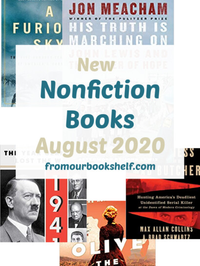 List of Nonfiction Book Releases August 2020