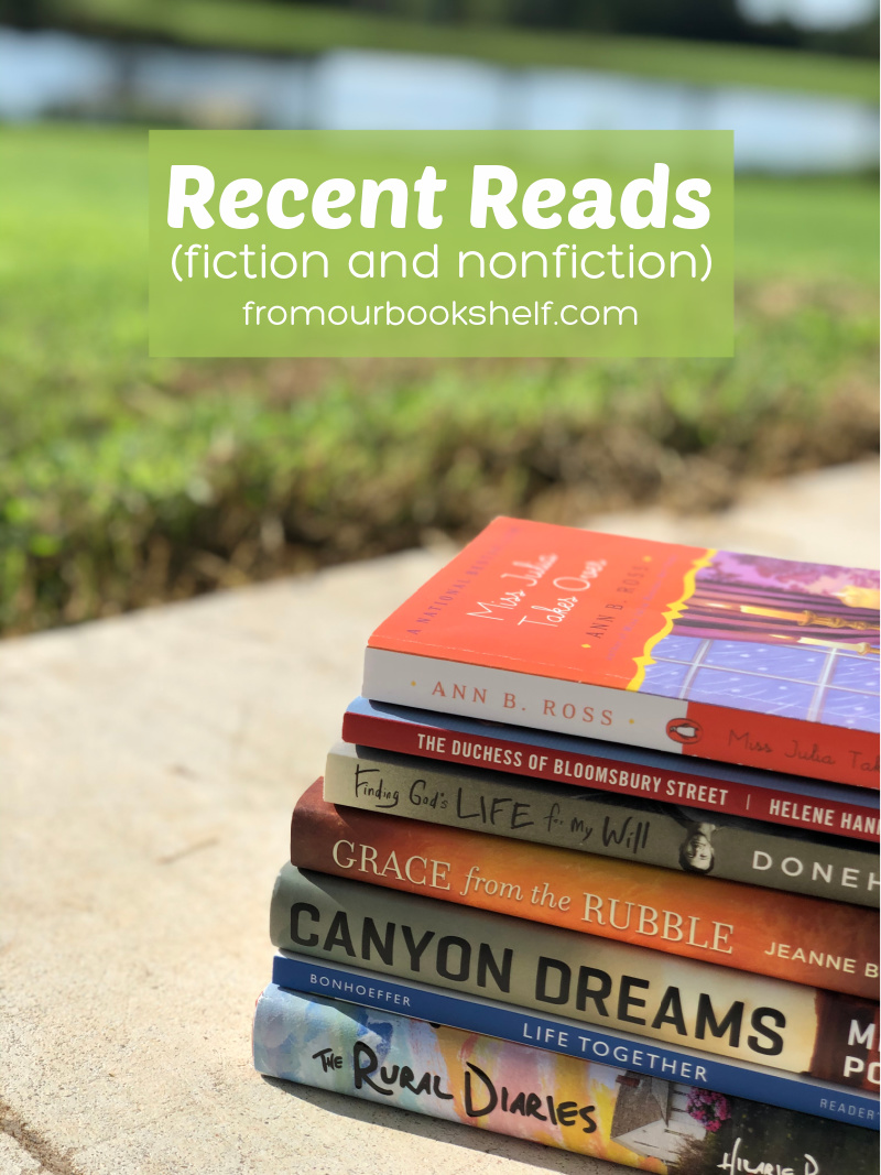 List of Recent Nonfiction and Fiction Reads