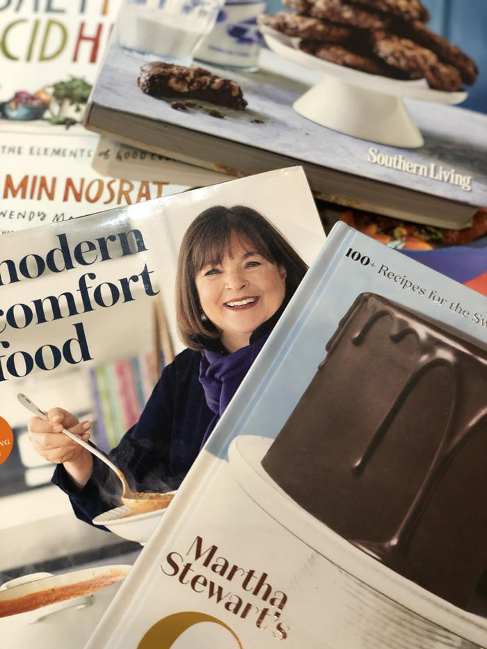 Cookbooks Bought in 2020
