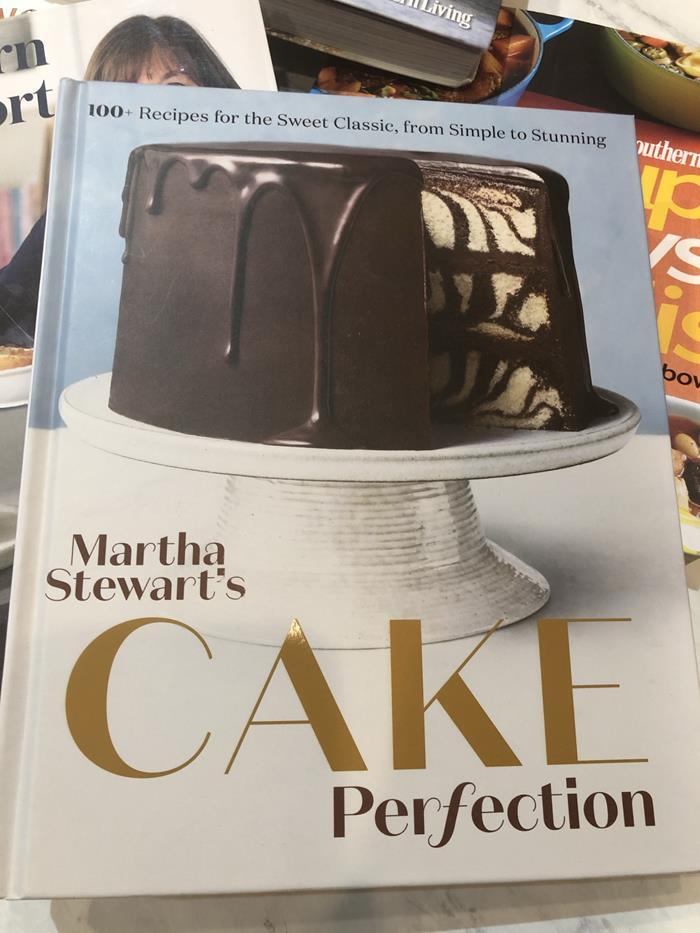 Martha Stewart Cake Perfection cookbook