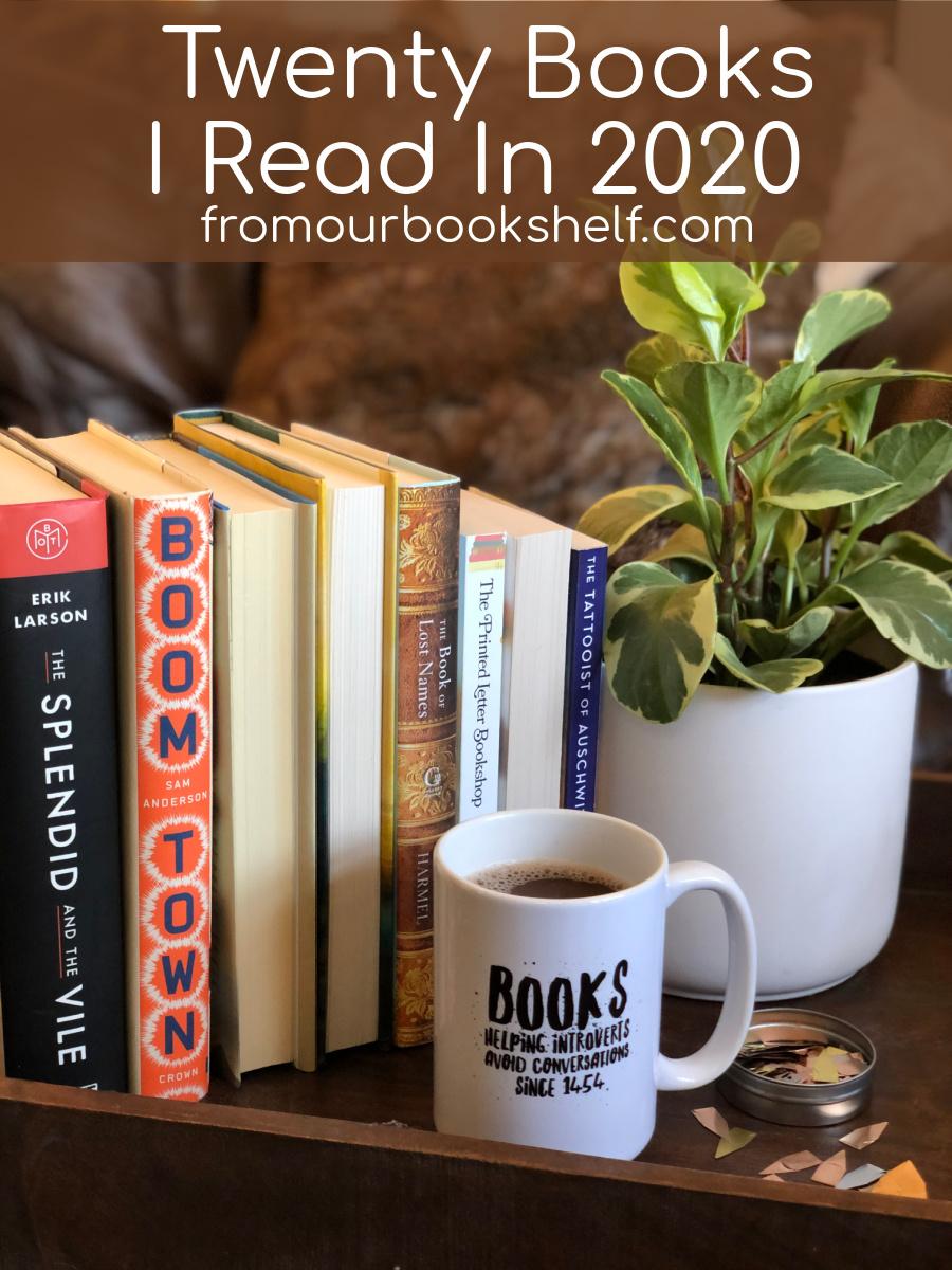 20 Books I Read in 2020
