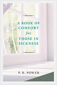 A Book of Comfort for Those In Sickness book comfort