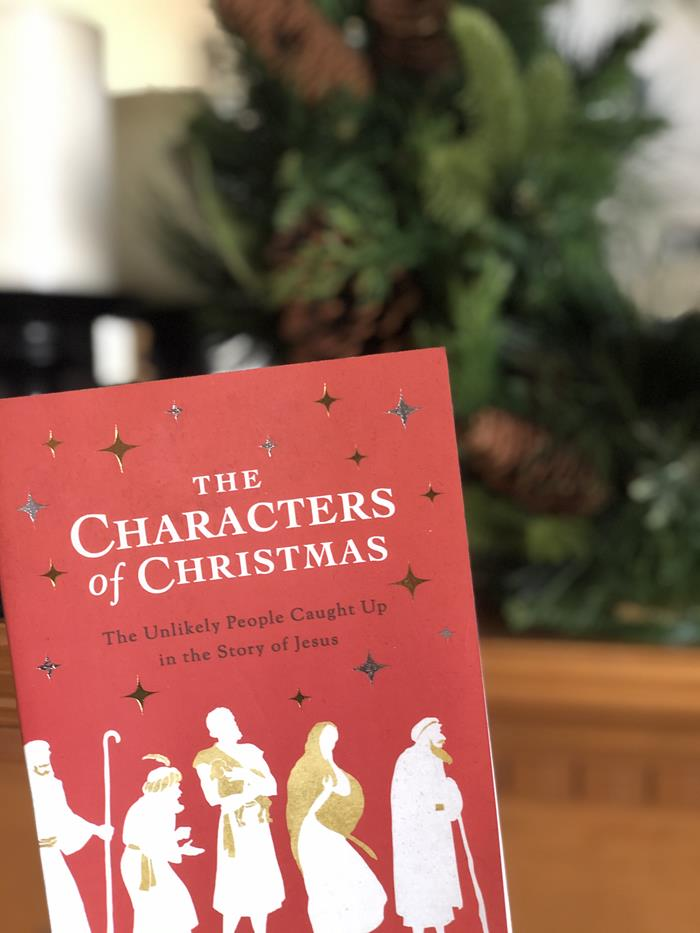 The Characters of Christmas Book