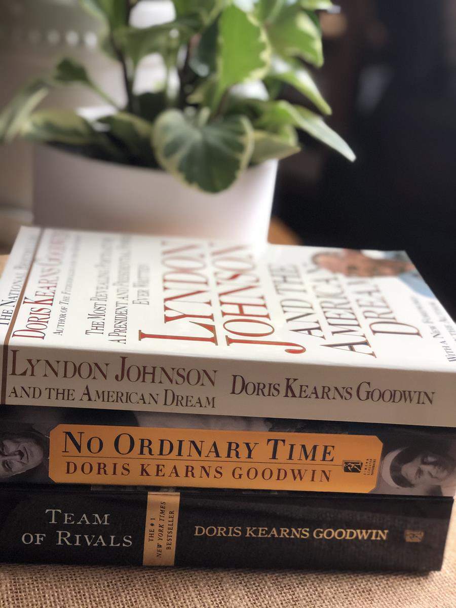 What Doris Kearns Goodwin book should I read book stack