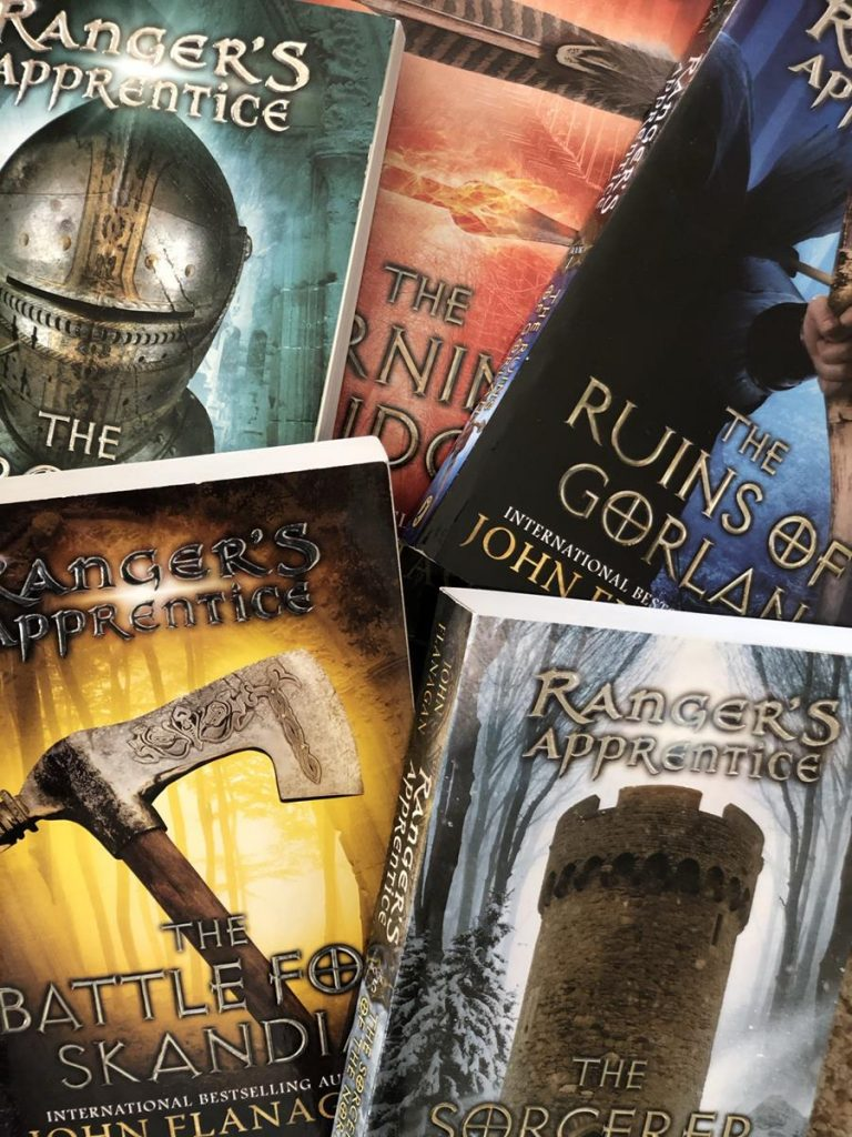 The Ranger's Apprentice Series book covers of six books