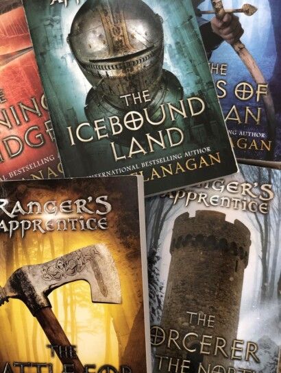 The Ranger's Apprentice Series by John Flanagan book covers