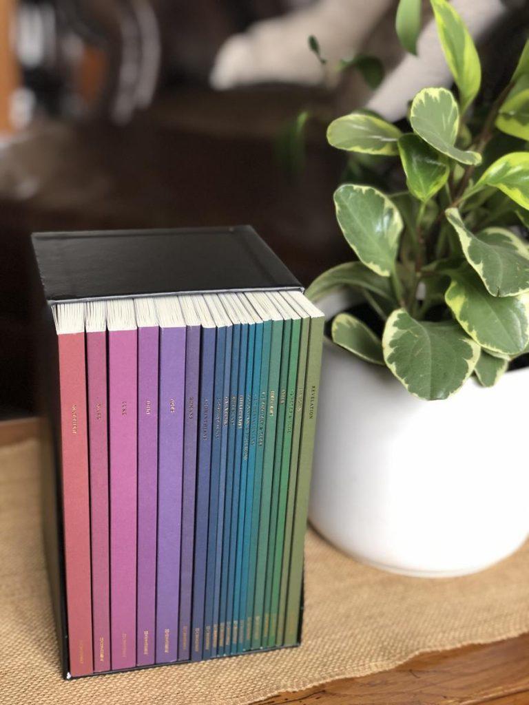 Nineteen Volume New Testament Boxed Bible Set