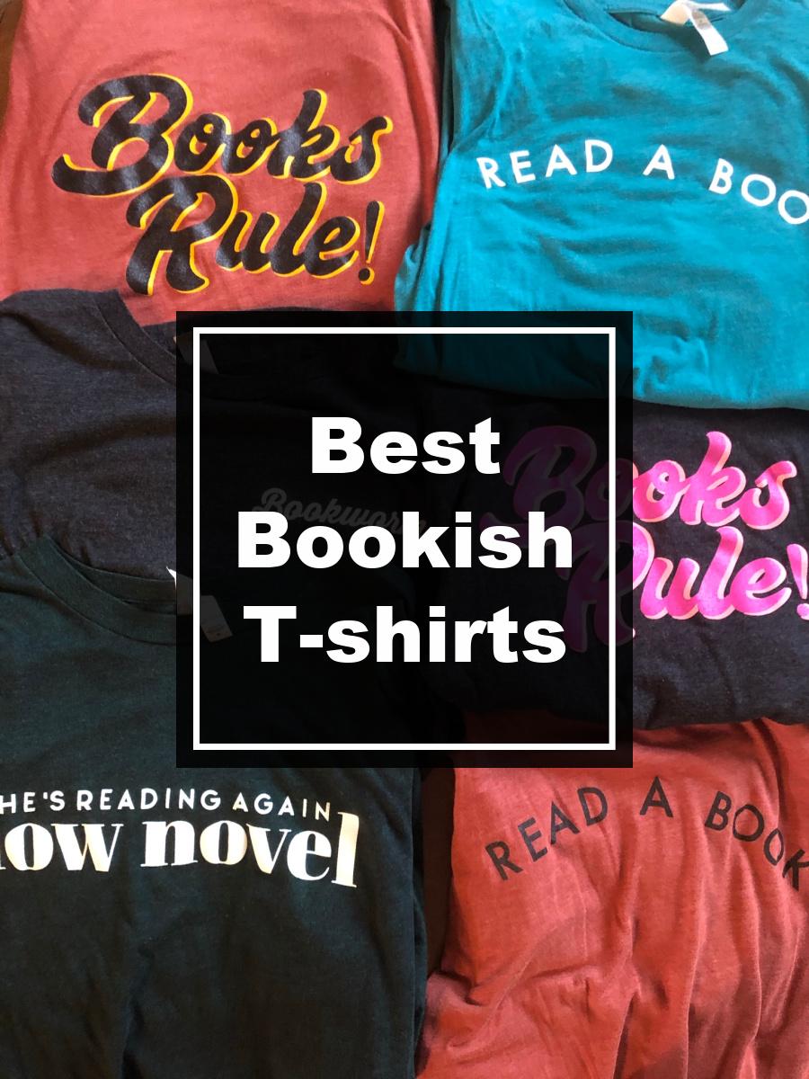 best bookish t shirts
