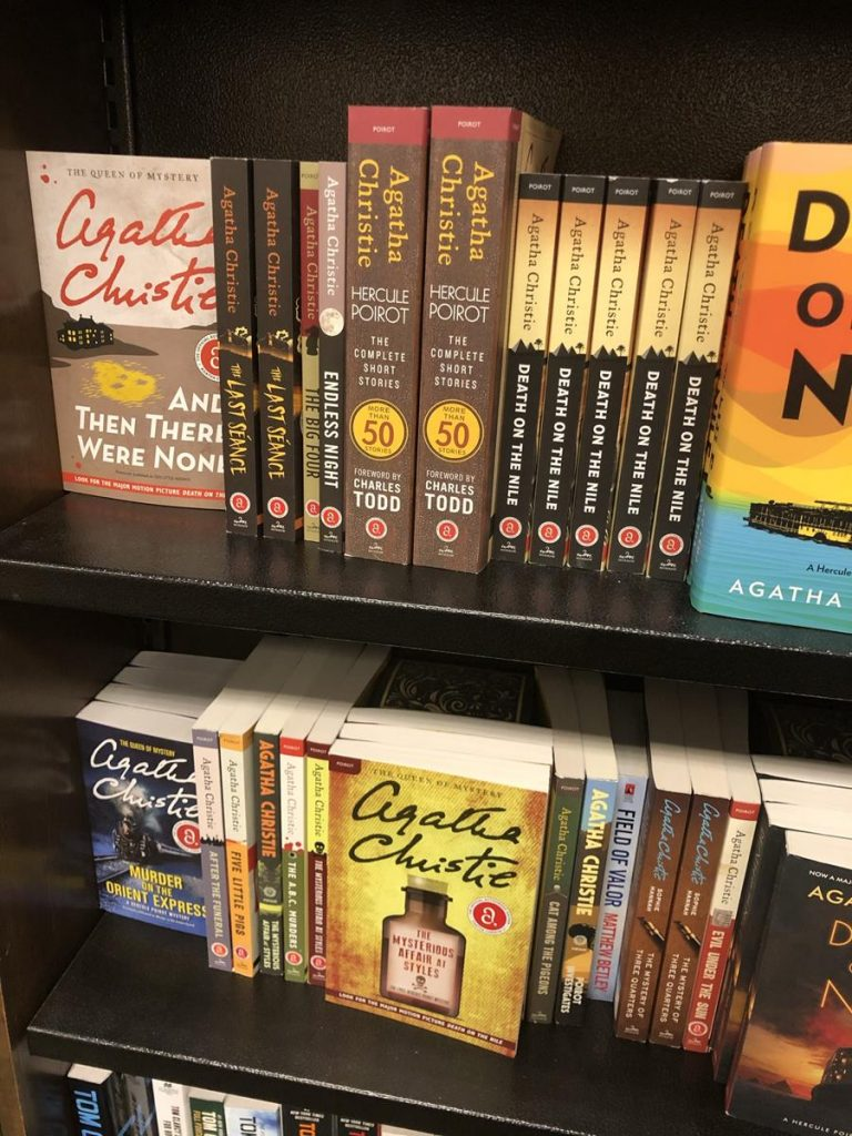 Bookstores Mystery books