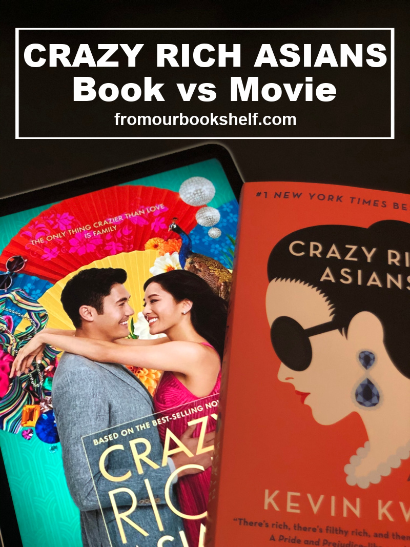 Crazy Rich Asian Book vs Movie
