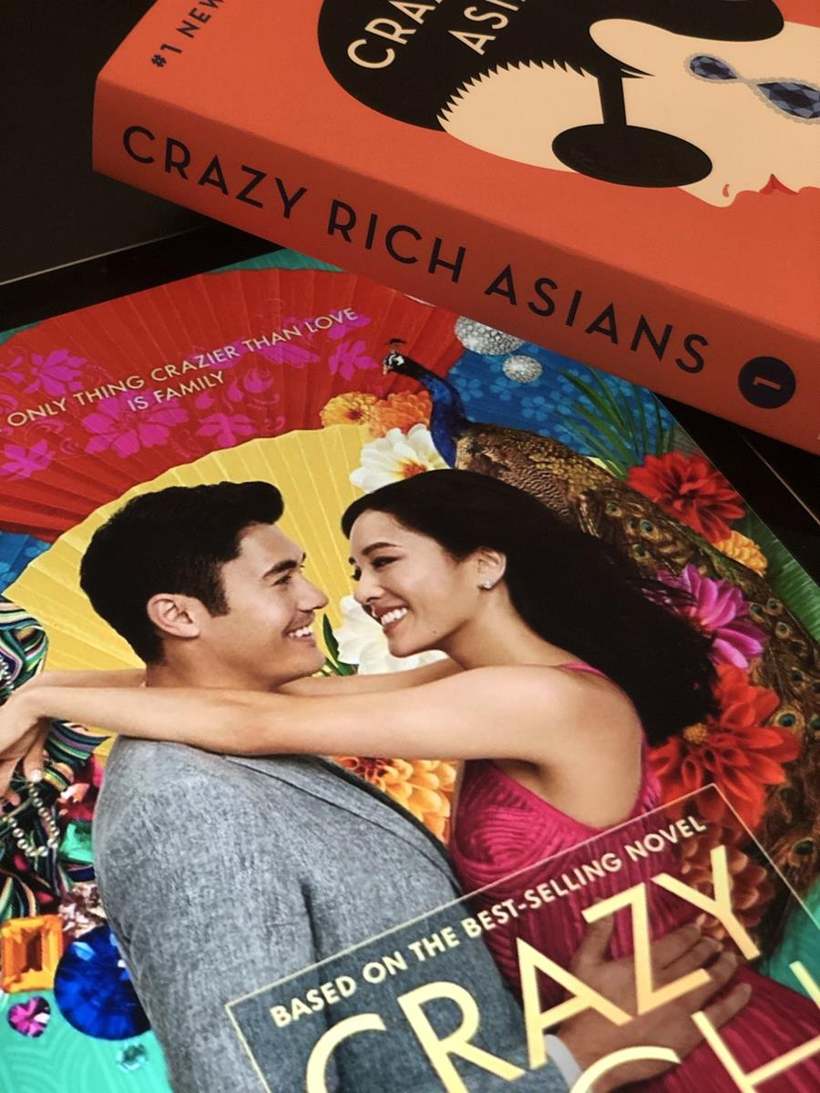 Crazy Rich Asians book vs Movie