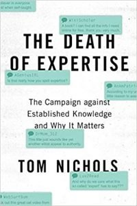 The Death of the Expertise book review