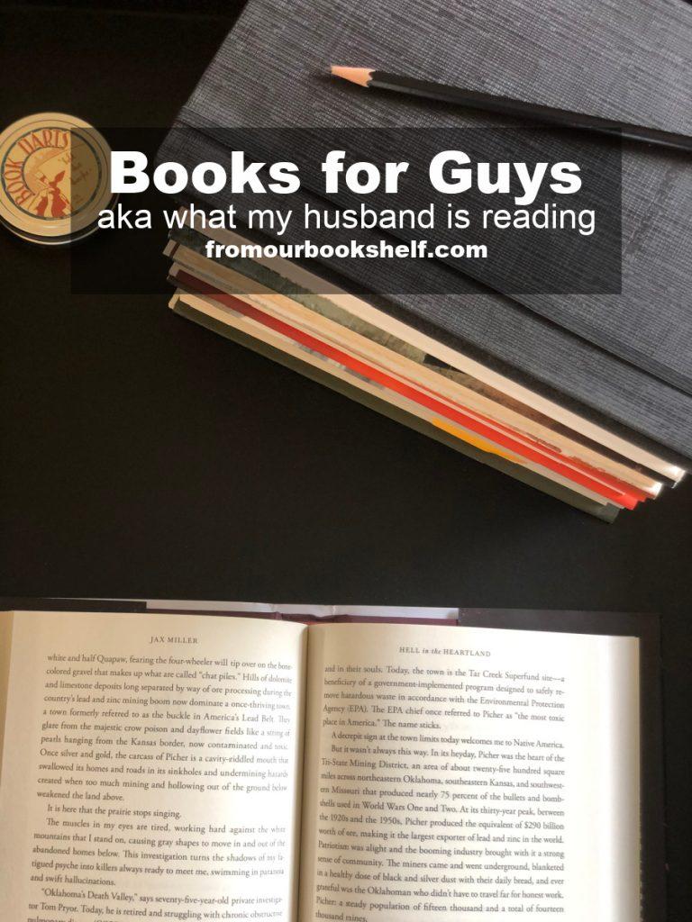 List of Books For Guys Spring 2021