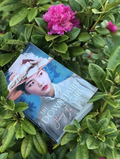 Backlist Books Challenge May Reads Downstairs Girl and a Flower