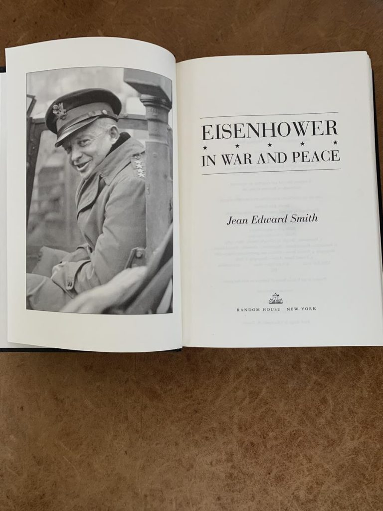 Eisenhower in War and Peace Book