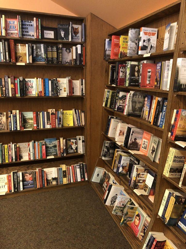 Cannon Beach Book Company Bookshelves