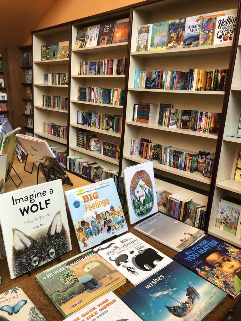 Cannon Beach Book Company Kids Section
