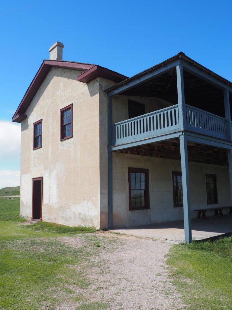 Fort Laramie Wyoming Building