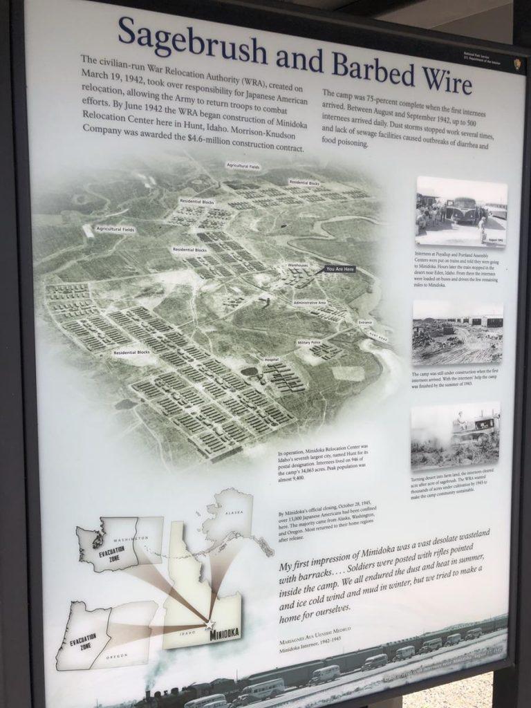 Minidoka Internment Camp Site