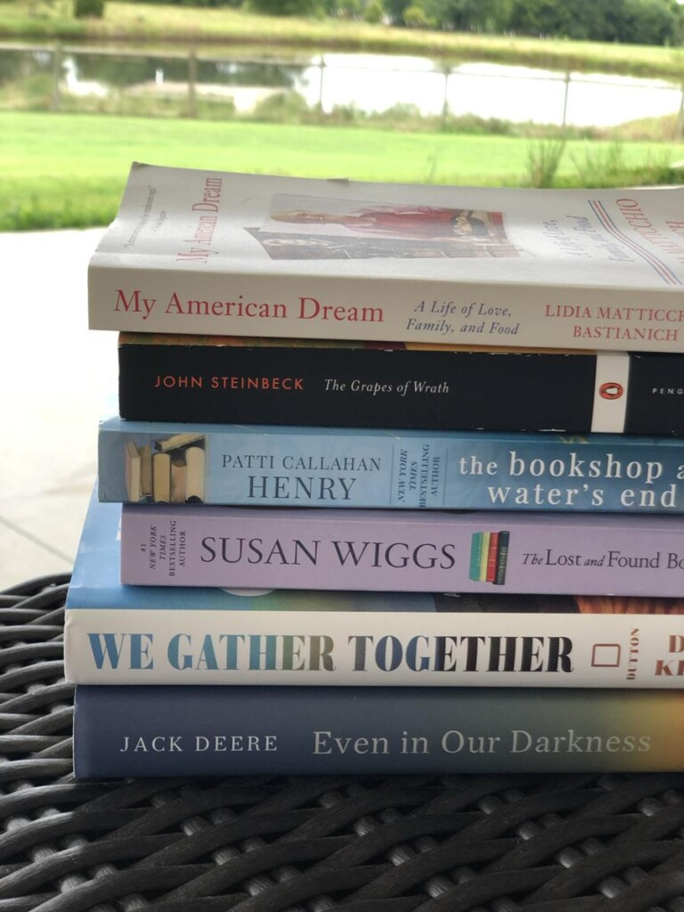 Backlist Books Challenge June and July Reads